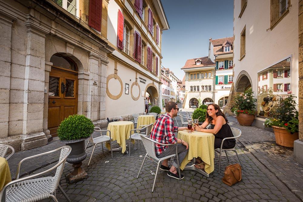 Morat murten et le jardin potager de suisse terroir tourisme for Restaurant le jardin morat