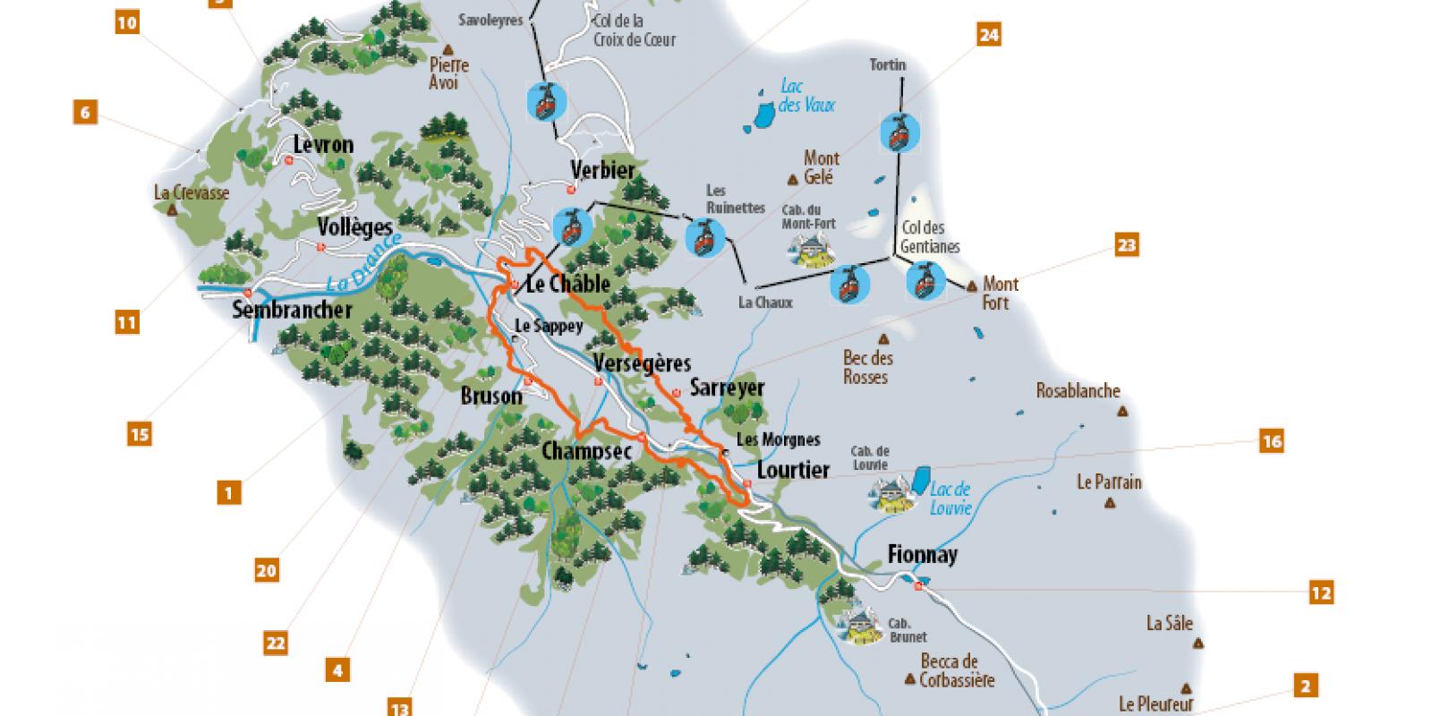 Nos Bons Plans 224 Verbier Val De Bagnes La Tzoumaz